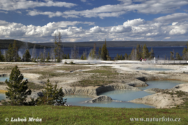 Yellowstone, Yellowstone Lake (Wyoming, USA)