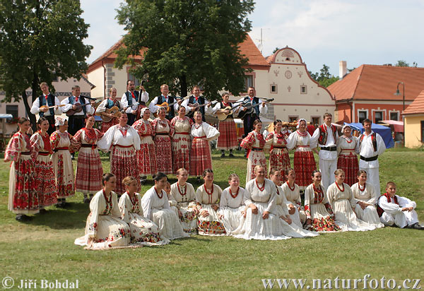 Festivities in the Village Holasovice (Holfest)