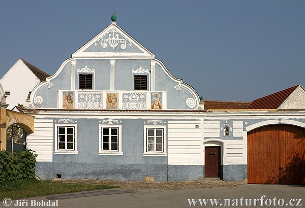 Folk Architecture - Radosovice (Arch)