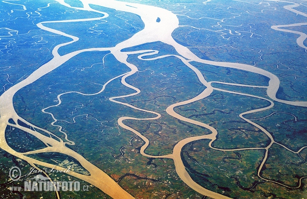 Delta of the Irrawaday River (Air)